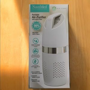 NuvoMed Portable Air Purifier with HEPA Filter